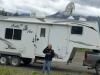 RVDataSat Satellite Internet phone call to CoachNet at Good Hope Lake