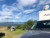 Satellit Internet only at Burwash Landing free boondocking, Yukon Territory