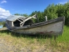 Old Boat at Burwash Landing Resort, Yukon Territory