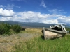 Old Boat at Burwash Landing Resort, Yukon Territory