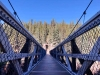 Miles Canyon Suspension Bridge, Trans Canada Trail