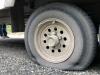 Broken Leaf Spring Flat Tire on Alcan Highway