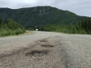 Alcan Trailer Tow Near Destruction Bay, YT