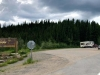 Yukon - Alaska Border near Tok, AK