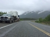 Alcan Trailer Tow Near Destruction Bay, YT