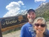 LiveWorkDream Team at Alaska Border