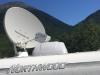 RVDataSat Mobile Internet Satellite Low on Horizon Skagway, Alaska