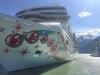 Cruise Ship in Port at Skagway, Alaska