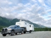 Chilkat River Boondocking near Haines, Alaska with Satellite Internet