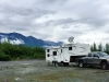 Chilkat River Boondocking near Haines, Alaska with Satellite Internet