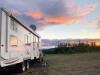 Boondocking near Braeburn, Yukon with Satellite Internet