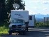 RVDataSat Satellite Internet, Cassiar Stewart Highway Rest Stop Boondocking