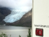Glacier and rig near Stewart BC and Hyder Alaska