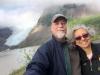 Glacier selfie near Stewart BC and Hyder Alaska