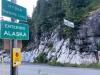 Hyder Alaska, Unguarded US Border