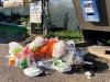 Trash at Burns Lake Free Dump Station