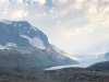 Smoky Skies at Columbia Icefields, Athabasca Glacier