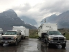 Icefields Boondocking with RVDataSat Satellite Internet and no Cell Service