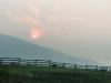 Smoky Sun near Jasper, BC