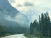Smoky Skies in Banff Park