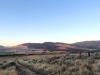 Sunrise over Hot Springs Montana