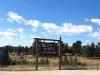 Colorful Colorado Border Sign