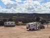 Fee RV Boondocking at Camel Rock Casino, Santa Fe NM