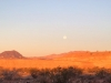 Full Moon Morning at Lake Mead, Nevada