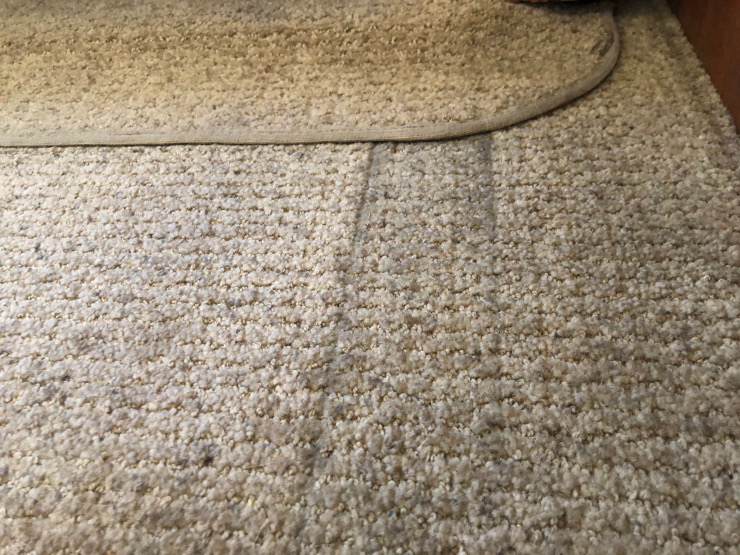 deep cleaning RV carpets