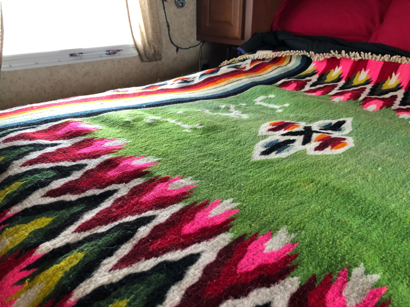 Mexican wool blanket
