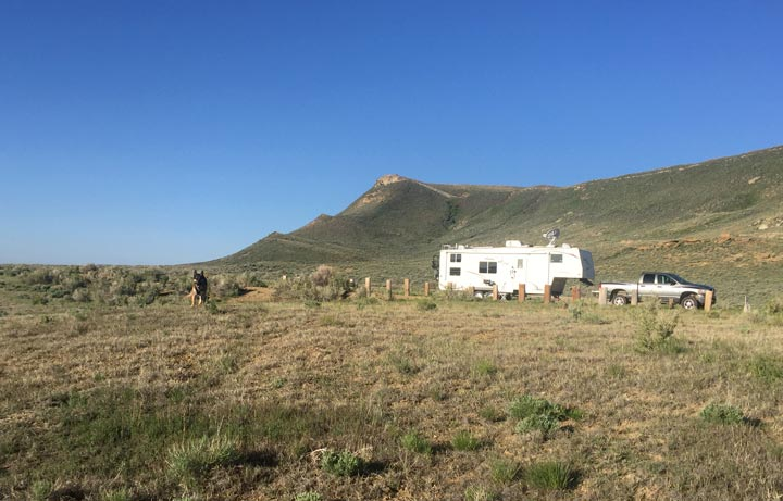 Rim Lake Boondocking