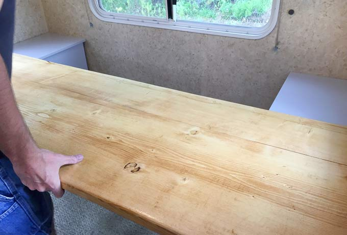Custom RV Desk