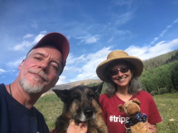 Tripawds Family Selfie