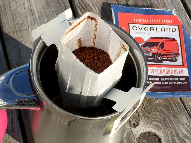 Overland Coffee Filter
