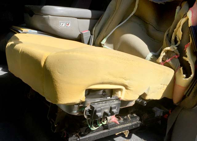 Remove Driver Seat Cushion