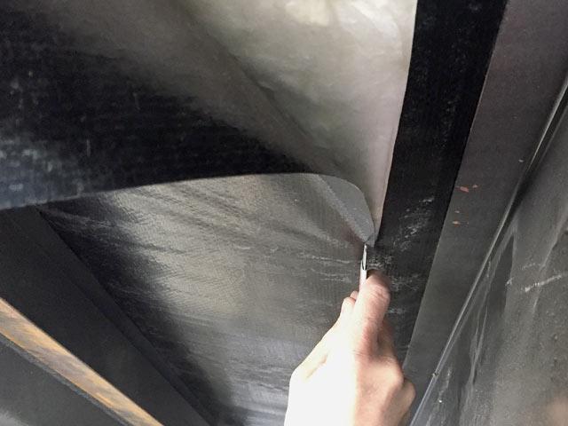 squeaky rv floor repair