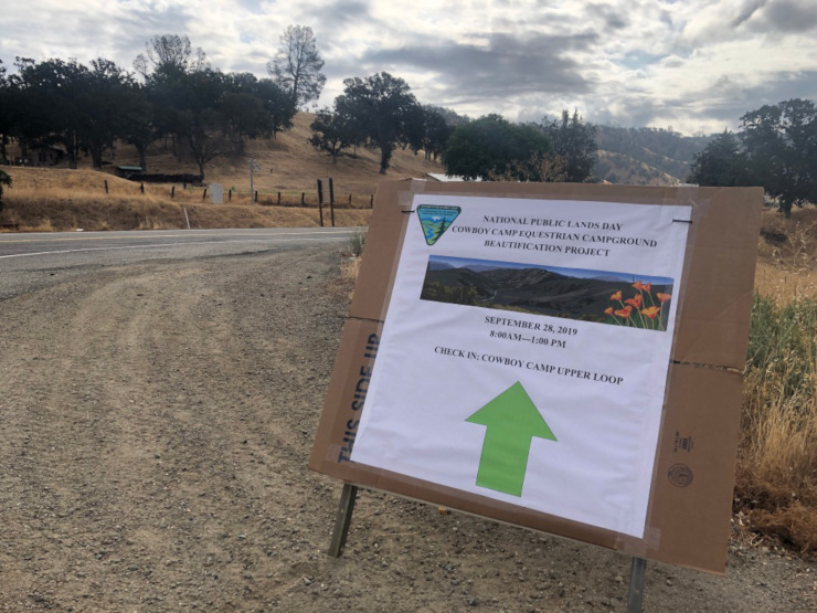National Public Lands Day Clearlake Oaks