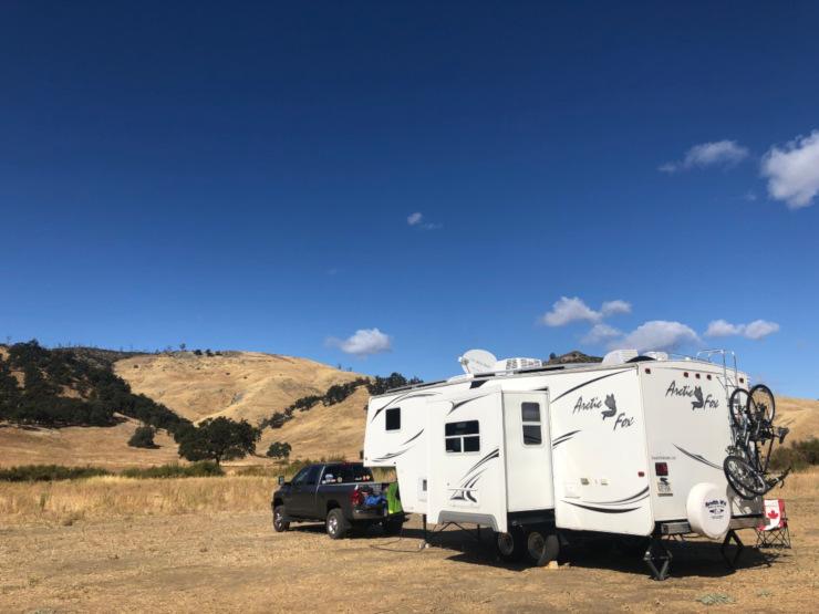 RV Camping at Cowboy Camp