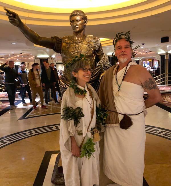 Caesar's Toga Party