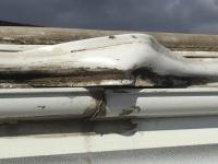 RV Roof Trim Repair