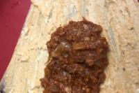 Jackfruit meat with masa