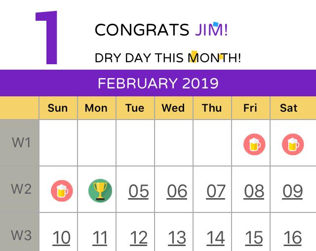 not so dry february