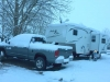 Fort Collins KOA May Snow