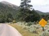 Great Basin National Park Steep Grade Sign