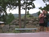 Celebrating view from our new Rocky Mountain deck