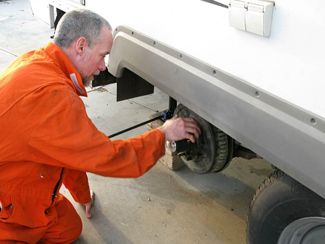 Trailer Wheel Repair