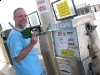 Small town Diesel Pump Handle falls off!
