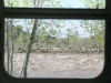 Scary Green River RV Window View