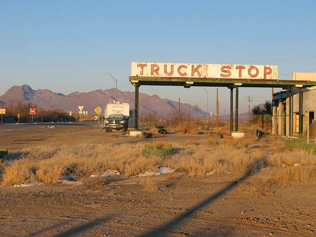 Sierra Blanca abandoned truck stop