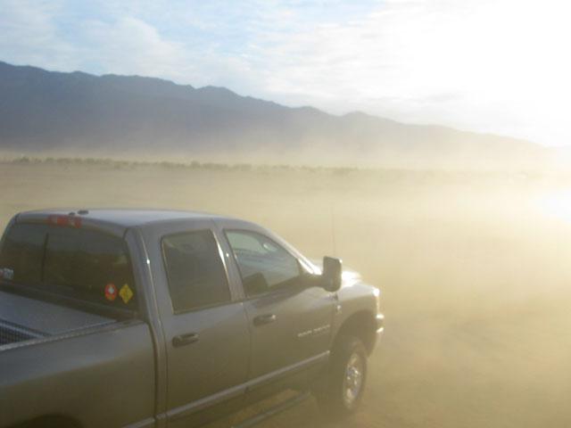 Desert Dust Storm
